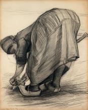 van Gogh, La cavatrice di carote | L'arracheuse de carottes | The carrot puller