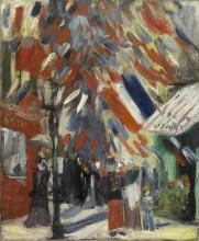 van Gogh, La festa del 14 luglio a Parigi   La fête du 14 juillet à Paris   The July 14 celebration in Paris