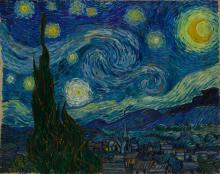 van Gogh, La notte stellata | La nuit étoilée | The starry night