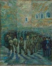 van Gogh, La ronda dei carcerati | La ronde des prisonniers | Prisoners round