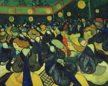 van Gogh, La sala da ballo ad Arles | La salle de dance à Arles | The dance hall in Arles