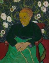 van Gogh, La signora Roulin che dondola la culla | La berceuse | Madame Roulin rocking the cradle