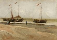 van Gogh, La spiaggia di Scheveningen | La plage de Scheveningen | The beach of Scheveningen