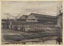 van Gogh, La stazione Staatsspoor   Station Staatsspoor   Gare Staatsspoor