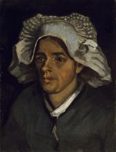 Vincent van Gogh, La testa di una contadina | La tête d'une paysanne | The head of a peasant woman