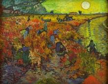 van Gogh, La vigna rossa | La vignoble rouge | De rode wijngaard | The red vineyard