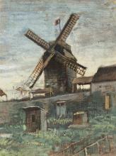 van Gogh, Le Moulin de Blute-fin