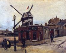 Vincent van Gogh, Le Moulin de la Galette