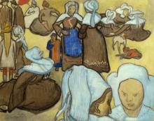 van Gogh, Le bretoni e il pardon di Pont Aven | Les bretonnes et le pardon de pont Aven | Breton women and the pardon of Pont-Aven