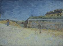 van Gogh, Le fortificazioni di Parigi con case | Les fortifications de Paris avec maisons | The fortifications of Paris with houses
