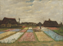 van Gogh, Letti di fiori in Olanda | Lits de fleurs en Hollande | Flower beds in Holland