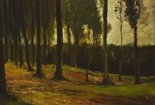 van Gogh, Limitare di bosco | Bosrand | Lisière de forêt | Edge of a wood