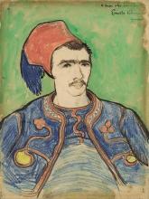van Gogh, Lo zuavo   Le zouave   The zouave