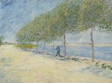 van Gogh, Lungo la Senna | Langs de Seine | Le long de la Seine | By the Seine