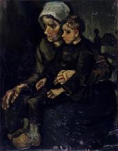 van Gogh, Madre e figlio   Mère et enfant   Mother and child