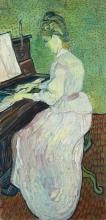 van Gogh, Marguerite Gachet al pianoforte | Marguerite Gachet au piano | Marguerite Gachet am Klavier | Marguerite Gachet at the piano