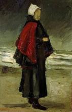 van Gogh, Moglie di pescatore | Vissersvrouw | Femme de pêcheur | Fisherman's wife