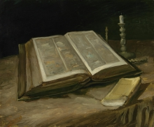 van Gogh, Natura morta con bibbia | Stilleven met bijbel | Nature morte avec bible | Still life with bible