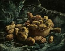 Van Gogh, Natura morta con patate | Stilleven met aardappels | Nature morte avec pommes de terre | Still life with potatoes