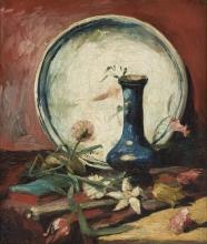 van Gogh, Natura morta con piatto, vaso e fiori | Nature morte avec plat, vase et fleurs | Natureza-morta com prato, vaso e flores | Still life with dish, vase and flowers