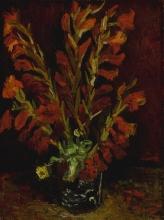 van Gogh, Natura morta: vaso con gladioli | Nature morte: vase aux glaïeuls | Still life: vase with gladioli
