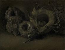 van Gogh, Nidi di uccello   Vogelnesten   Nids d'oiseau   Bird's nests
