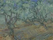 van Gogh, Oliveto | Olijfgaard | Oliveraie | Olive grove