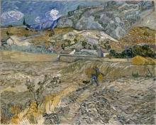 van Gogh, Paesaggio a Saint Rémy | Paysage à Saint-Rémy | Landscape at Saint-Rémy