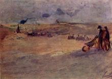 van Gogh, Paesaggio di dune con figure | Duinlandschap met figuren | Dünenlandschaft mit Figuren | Dune landscape with figures