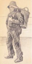 van Gogh, Pescatore | Pêcheur | Fisher