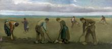 van Gogh, Piantatori di patate | Aardappelpoters | Planteurs de pommes de terre | Potatoes planters