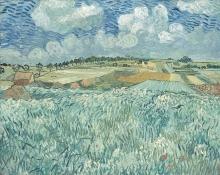 van Gogh, Pianura ad Auvers | Plaine à Auvers | Ebene bei Auvers | Plain at Auverse