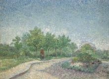 van Gogh, Piazza Saint Pierre, Parigi | Place Saint-Pierre, Paris | Square Saint-Pierre,Paris