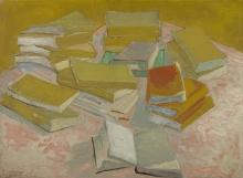 van Gogh, Pile di romanzi francesi | Stapels Franse romans | Piles de romans français | Piles of French novels