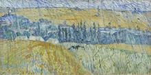 van Gogh, Pioggia. Auvers | Pluie. Auvers | Rain. Auvers
