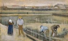 van Gogh, Prati vicino Rijswijk | Prés près de Rijswijk | Meadows near Rijswijk