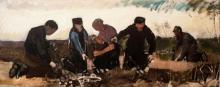 van Gogh, Raccoglitori di patate (Cinque persone) | Arracheurs de pommes de terre (Cinq personnes) | Potato grubbers (Five persons)