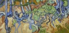 van Gogh, Radici d'albero | Boomwortels | Racines d'arbres | Tree roots