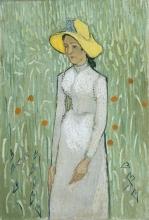 van Gogh, Ragazza in bianco | Fille en blanc | Girl in white