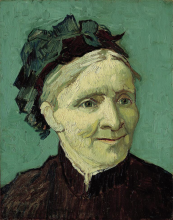 van Gogh, Ritratto della madre dell'artista | Portrait de la mère de l'artiste | Portrait of the artist's mother