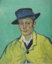 Vincent van Gogh, Ritratto di Armand Roulin | Porträt Armand Roulin | Portrait d'Armand Roulin | Portrait of Armand Roulin