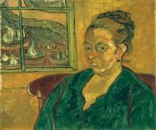 van Gogh, Ritratto di Augustine Roulin | Bildnis Augustine Roulin | Portrait d'Augustine Roulin | Portrait of Augustine Roulin