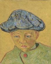 van Gogh, Ritratto di Camille Roulin | Portret van Camille Roulin | Portrait de Camille Roulin | Portrait of Camille Roulin