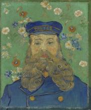 van Gogh, Ritratto di Joseph Roulin | Portret van Joseph Roulin | Portrait de Joseph Roulin | Portrait of Joseph Roulin
