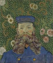 van Gogh, Ritratto di Joseph Roulin | Portrait de Joseph Roulin | Portrait of Joseph Roulin