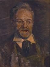 Vincent van Gogh, Ritratto di Julien Tanguy | Portrait de Julien Tanguy | Portrait of Julien Tanguy | Portræt af Julien Tanguy