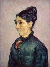 van Gogh, Ritratto di Madame Trabuc   Portrait de Madame Trabuc   Portrait of Madame Trabuc