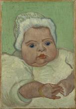 van Gogh, Ritratto di Marcelle Roulin | Portret van Marcelle Roulin | Portrait de Marcelle Roulin | Portrait of Marcelle Roulin