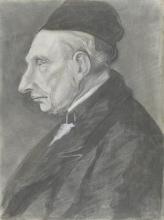 van Gogh, Ritratto di Vincent van Gogh, nonno dell'artista | Portret van Vincent van Gogh, grootvader van de kunstenaar | Portrait de Vincent van Gogh, grand-père de l'artiste | Portrait of Vincent van Gogh, grandfather of the artist