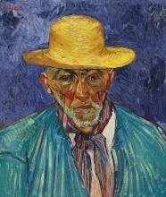 van Gogh, Ritratto di contadino (Patience Escalier) | Portrait de paysan (Patience Escalier) | Portrait of a peasant (Patience Escalier)